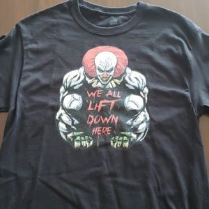 Hanes Shirts - Men's Lifting T-Shirt IT Pennywise
